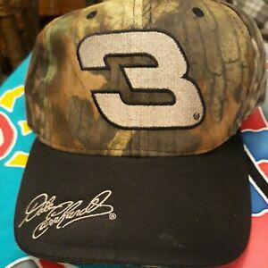 Vintage Dale Earnhardt #3 NASCAR Competitors View Hat Cap CAMO NWT