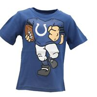 Indianapolis Colts Official NFL Apparel Infant Toddler Size T-Shirt New Tags