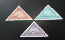 China 1951 Stamps Peace Campaign Full Set of 3 Used E