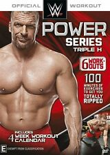 NEW Wwe Power Series: Triple H (DVD)