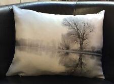 "Photo of Lake Scene on 16"" x 12"" Evans Lichfield Cushion Cover"
