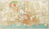1893 Map Yonkers City New York Wall Art Poster Print Decor Vintage History