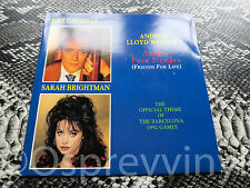 "Sarah Brightman Amigos Para Siempre Near Mint UK 7"" single"