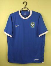Brazil team jersey shirt 2006/2008 Away official nike soccer football size L