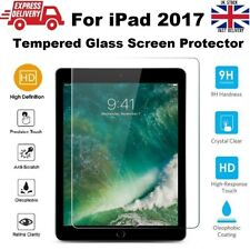 Ultra Slim Bubble Free Tempered Glass Screen Protector for iPad 2017 A1822/A1823