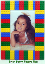 LEGO Picture Frame for 4x6 size Photo made entirely from new LEGO pieces 3020 S1