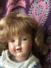 Cute unmarked composition doll