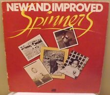 """SPINNERS """"New And Improved""""1974 ATLANTIC SD 18118 Vinyl LP record"""
