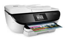 HP OfficeJet 5740 Wireless All-in-One Photo Printer Copier Scanner Fax - White