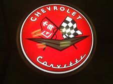 corvette Chevy wall light