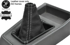Gris Couture Top Grain REAL LEATHER GEAR GAITER FITS PEUGEOT 205 MK2 Phase 2