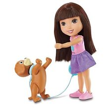 Fisher- Nickelodeon Dora Friends Toy - Dora 12 Inch Doll and Perrito Puppy