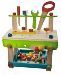 EverEarth® 32688 Holz-Werkbank, Holspielzeug, Werkzeug für Kinder