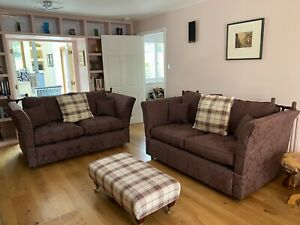 2 X Knole Sofas By Wesley Barrell
