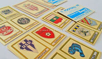 "ULTRA RARE !! Vignettes Ecussons ""FRENCH FOOTBALL 79"" stickers, badges PANINI"