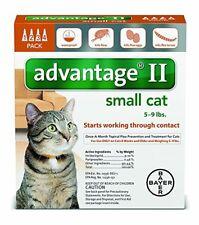 Bayer Advantage Ii For Small Cats, Orange, 5-9 lbs 4-Pk. Usa Version