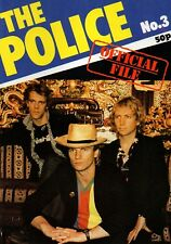 The Police Official File Magazine Issue No.3      July 1980   Sting