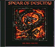"SPEAR OF DESTINY "" THE PRICE YOU PAY "" CD NUOVO VIRGIN 1988 RARO"