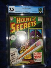 HOUSE OF SECRETS 23 CGC 3.5 1ST APPEARANCE MARK MERLIN 1959