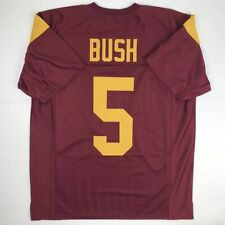 New REGGIE BUSH USC Red College Custom Stitched Football Jersey Size Men's XL