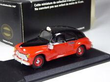 selten: Eligor Peugeot 203 Taxi G7 rot schwarz in 1:43 in OVP