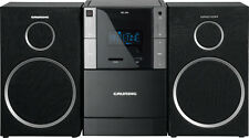 Grundig MS 240 Stereoanlage UKW-Tuner, CD-, Kassetten-, MP3-, SD-Karten-Spieler