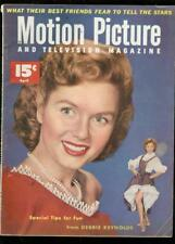 MOTION PICTURE & TELIVISION MAGAZINE APRIL 1953-DEBBIE VG