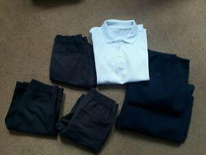 Boys School Grey Uniform Bundle age 7-8