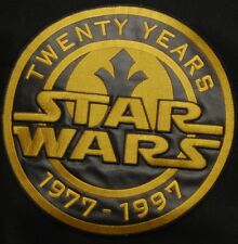 Star Wars 20th Anniversary Leather Varsity Jacket NWT