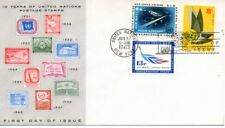 UN FDC NY #C8-C10 Air Mail Combo, (8212)