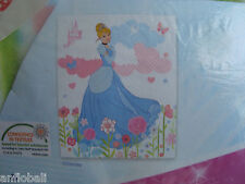 PLAID/COUVERTURE POLAIRE CENDRILLON  DISNEY PRINCESS NEUF 120 X 140