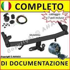 Gancio di traino fisso Opel Corsa C 2000-2006 + kit elettrico 7-poli Rimorchio