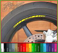 12 x HONDA HORNET Wheel Rim Stickers Decals - cb 600 f cb 900 f cb600f cb900f