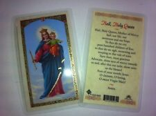 HOLY PRAYER CARDS FOR THE VIRGIN MARY SET OF 2 ENGLISH OR SPANISH FREE SHIPPING