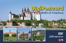 """DigiPostcard """"Meißen und Umgebung""""- Ansichtskarte mit DVD als Stadtführer"""