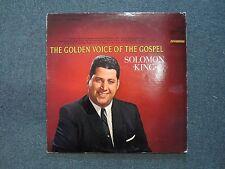 The Golden Voice of the Gospel Solomon King~RARE 1964 Xian~Christian~FAST SHIP