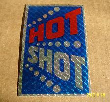 1 Authentic Hot Shot BMX Frame Sticker/Décalque/Autocollant