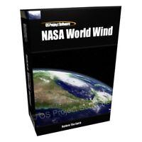 NASA World Wind 3D Earth World Atlas Computer Software Program