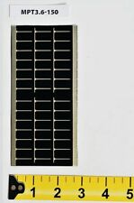 PowerFilm 3.6v 100ma Flexible Solar Panel With Wires Mpt3.6-150