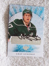 Minnesota Wild Chay Genoway Signed 12/13 Artifacts Rookie Card #894/999 Auto