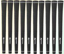 11 Grip Tapes + 11 Karma Black Velvet Midsize Golf Grips Mid size
