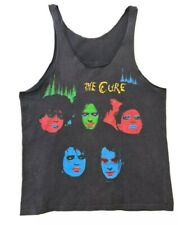 Rare original 1985 Vintage The Cure in between days tshirt band rock punk goth