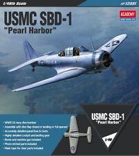 "[Academy] 1/48 USMC SBD-1 ""Pearl Harbor"" Aircraft Plastic model kit 12331"