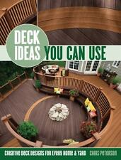 Deck Ideas You Can Use: Creative Deck Designs for Every Home & Yard-ExLibrary