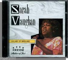 Sarah Vaughan - Lullaby of Birdland (1994) -  New 16 Song, Four Star Jazz CD!