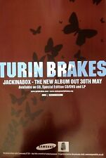 Turin Brakes - Jack In The Box - Rare Original Promo Poster 20x28 Inches