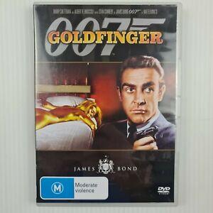 Goldfinger DVD James Bond 007 - Sean Connery - Region 4 - TRACKED POST