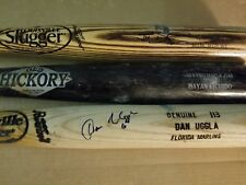 DAN UGGLA FLORIDA MARLINS GAME USED 06 ROOKIE BAT GIANTS BRAVES NATIONALS SIGNED