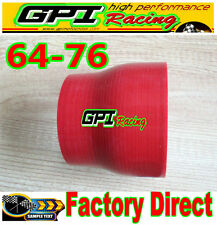 2.5 to 3 inch Straight Silicone Hose Reducer 64-76mm Coulper pipe R intercooler
