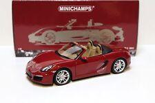 1:18 Minichamps Porsche Boxster S - 2012 Red SP NEW in Premium-MODELCARS